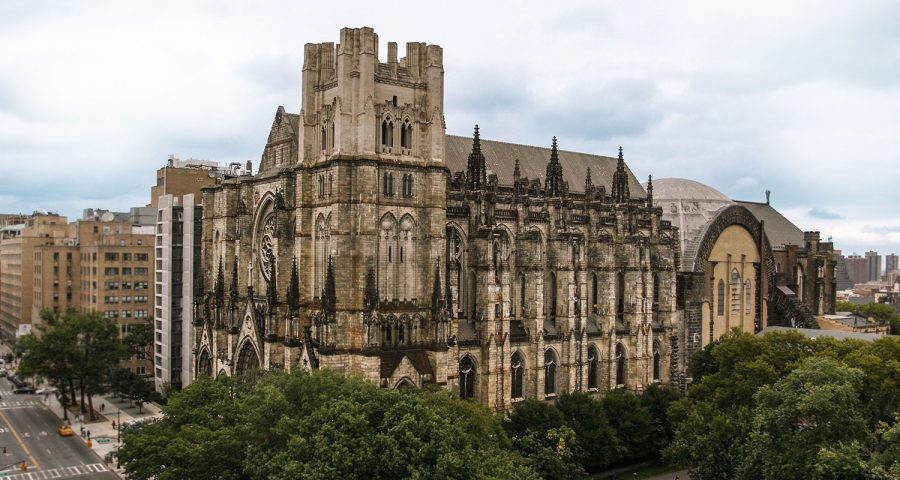 New York Turns World's Largest Cathedral Into Hospital