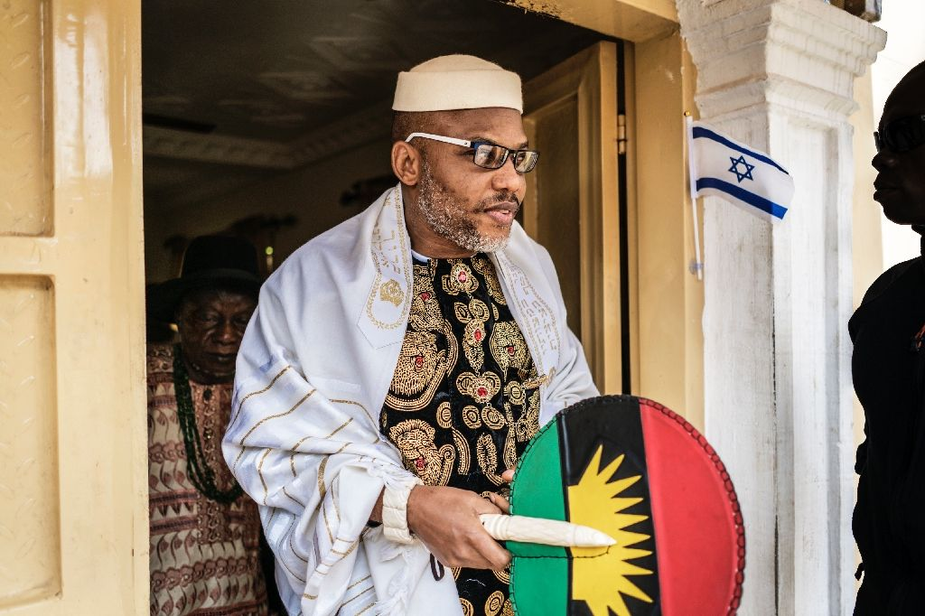 Nnamdi Kanu Explains Why Nigeria, Southeast Don't Need 5G
