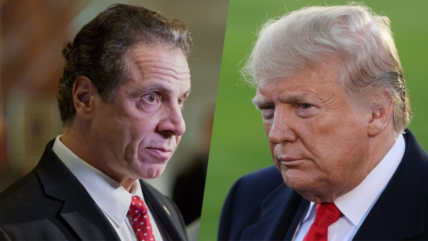 Trump Clashes With New York Governor Over COVID-19 Tests