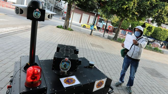 Tunisia Deploys 'RoboCop' To Enforce Lockdown