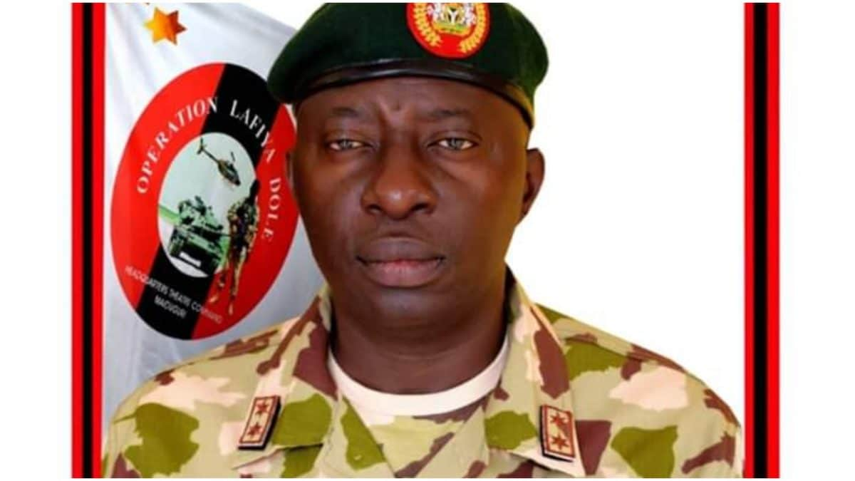 Why General Adeniyi Was Removed As Commander