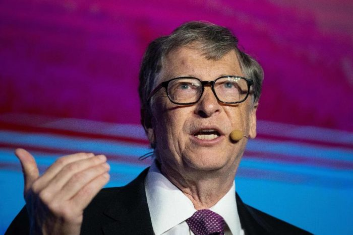 Bill Gates Reveals New RNA Vaccine With 'Code'
