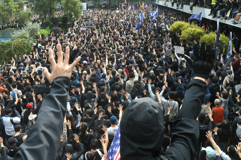 China Warns HK Protesters Against 'Stirring Up Trouble'