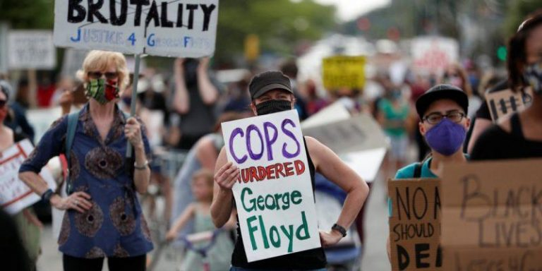 George Floyd - Minnesota Police Arrest Dozens Of Protesters