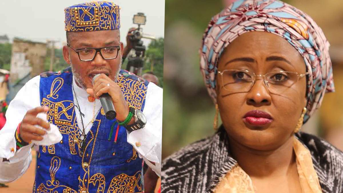 Here's A Video Of Aisha Buhari's Lover - Nnamdi Kanu