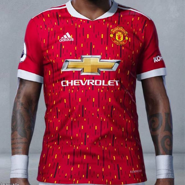 Manchester United's 2020 -21 Kits Leaked Online