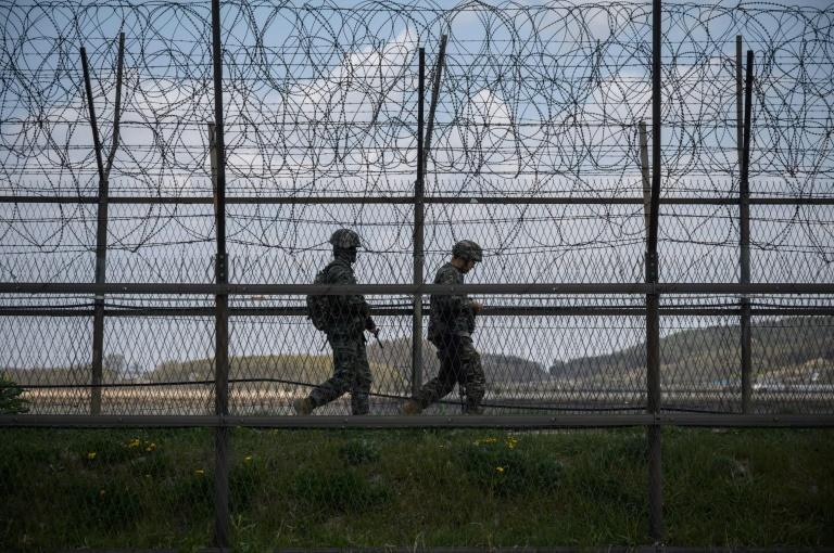 North And South Korea Exchange Gunfire At Border - Seoul