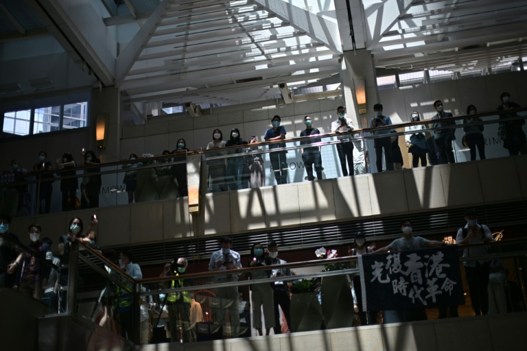 Police On Alert In Hong Kong Ahead Of Democracy Rallies