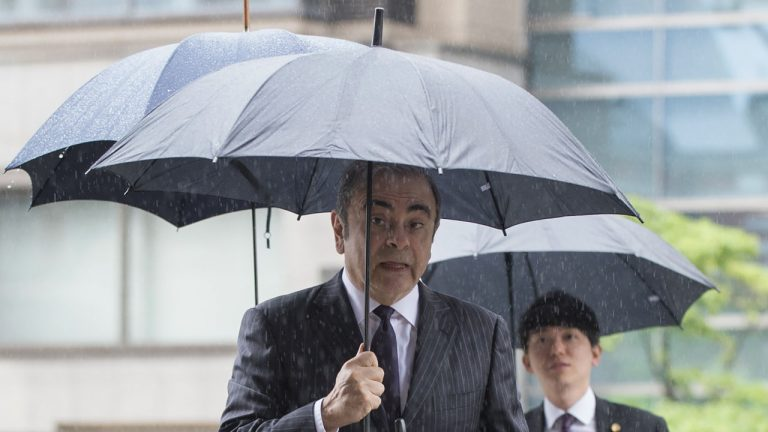 The Father-Son Duo Accused Of Masterminding Ghosn's Japan Escape