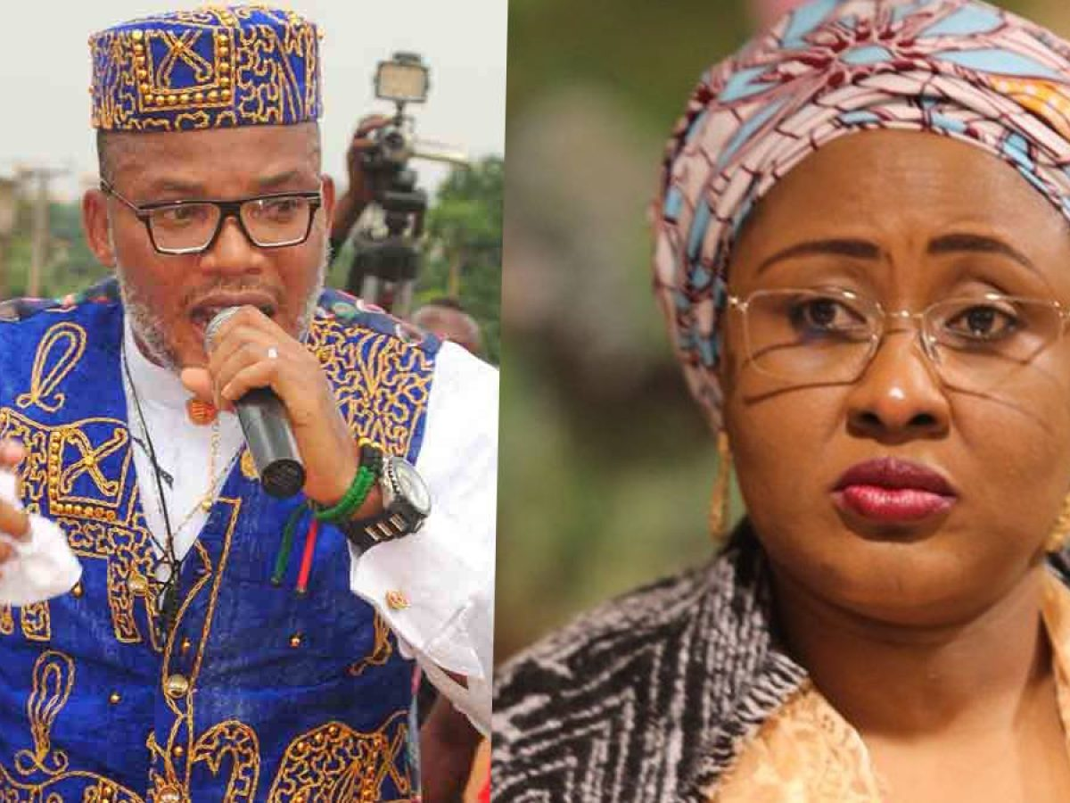 Aisha Buhari, The Widow Who Runs Nigeria - Nnamdi Kanu
