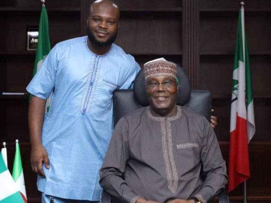 Arewa Youths React As Atiku's Son Declares Ex-VP Will Run For Presidency