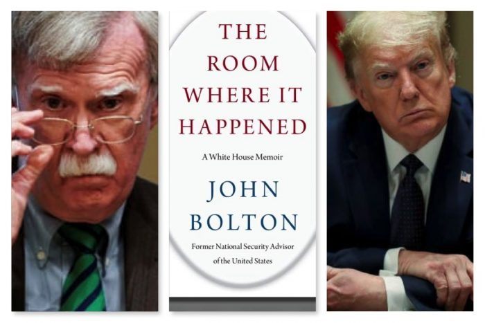 Bolton Responds To Trump's Attacks With A Warning