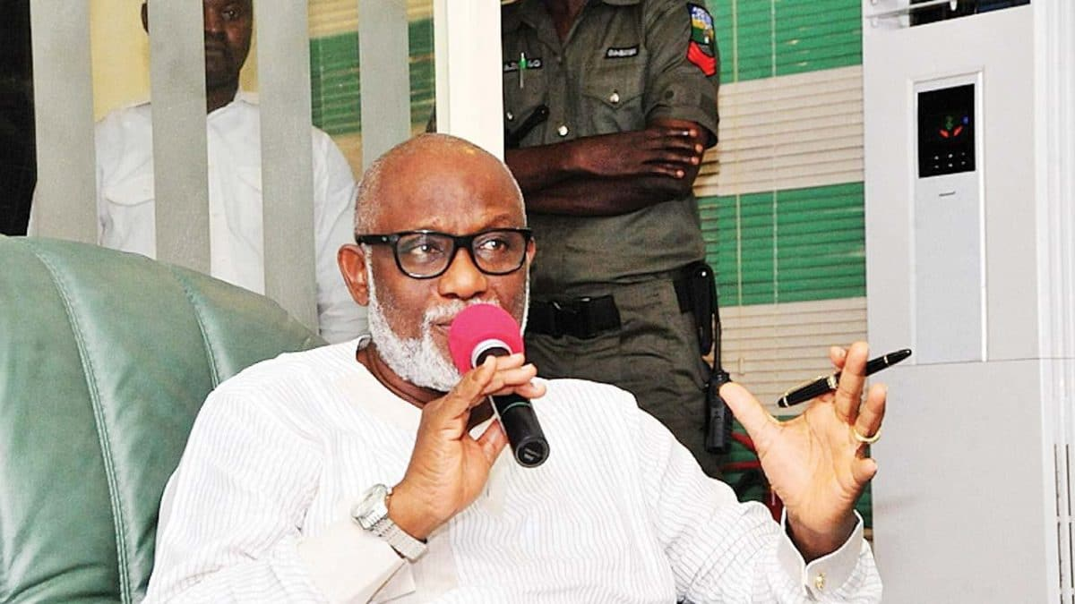 I'll No Longer Tolerate Violence By Jegede's Supporters – Akeredolu
