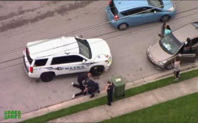 Cop Kneels On Another Black Man's Neck During Arrest