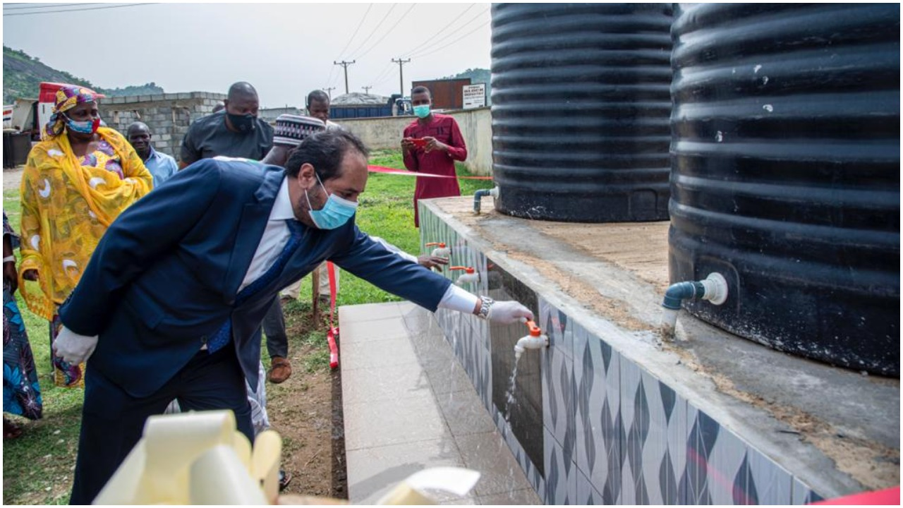 Despite Oil Wealth, UAE Provides Potable Water For Abuja Communities