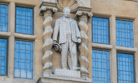 Oxford Don't Hide History, Says Oxford Head In Statue Row
