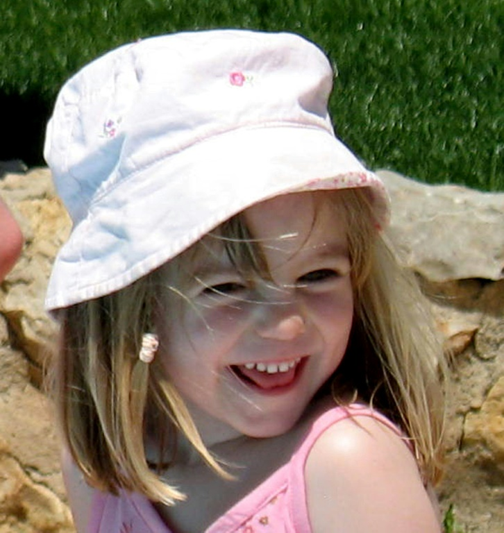 Germany suspects sex predator killed missing British girl Madeleine McCann