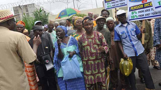 Imo Pensioners Protest Four Months Pension Arrears