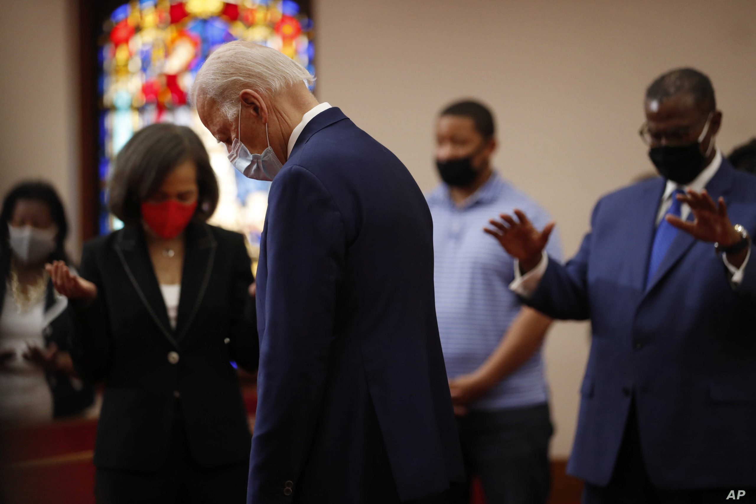 Joe Biden Meets With George Floyd's Family, Pledges Support