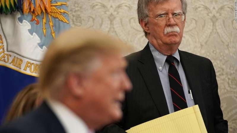 John Bolton Calls Trump 'Naïve And Dangerous'