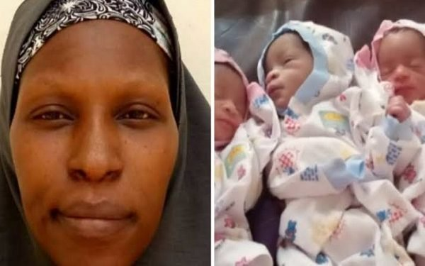 Nigerian Mother Of 13 Gives Birth To Quadruplets