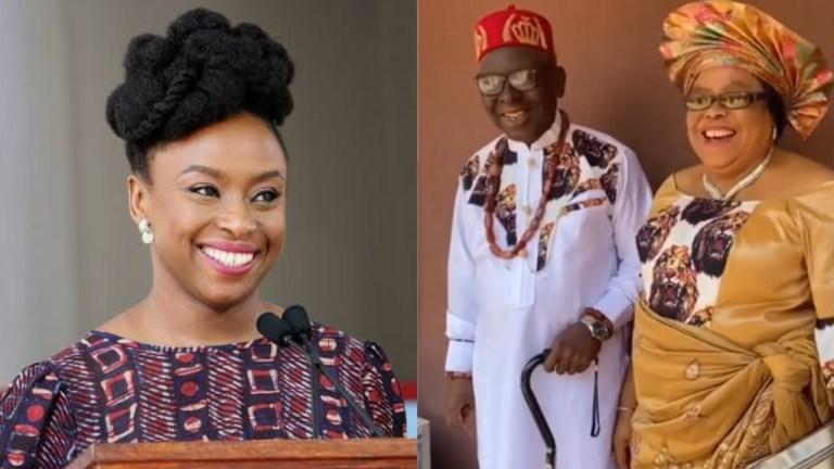 Nigerian Writer Chimamanda Adichie Loses Father