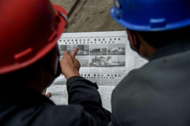 North Korea Preparing Anti-South Leaflet Campaign - KCNA
