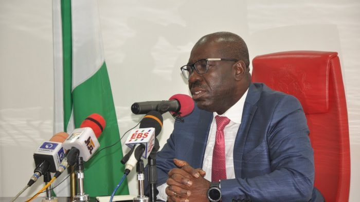 Obaseki Attends '5 Minutes' Screening At APC Secretariat