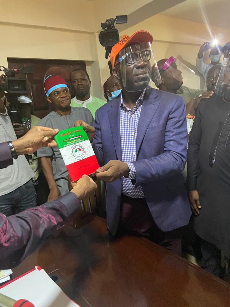 Obaseki Formally Joins PDP