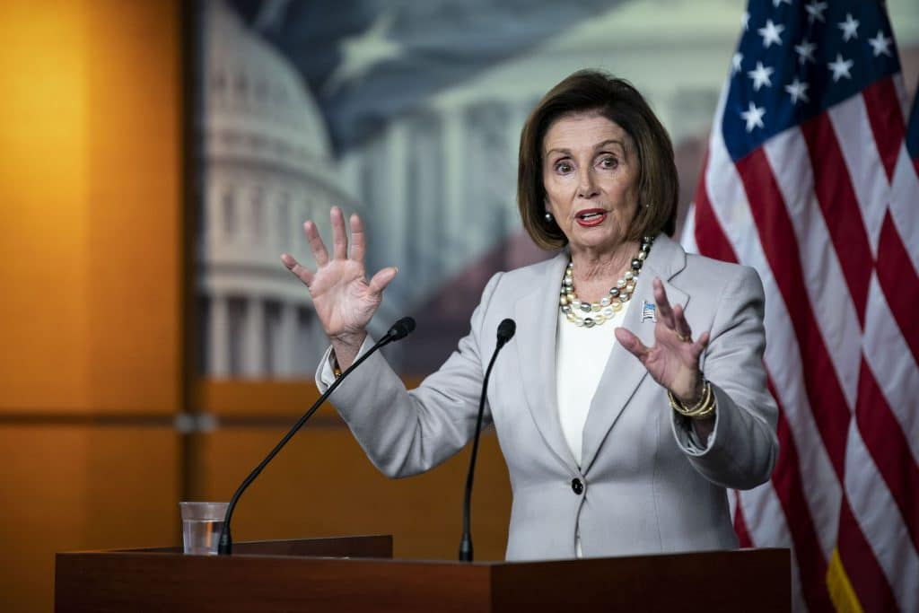 Pelosi Takes Position On Trump's Comments About Protesters
