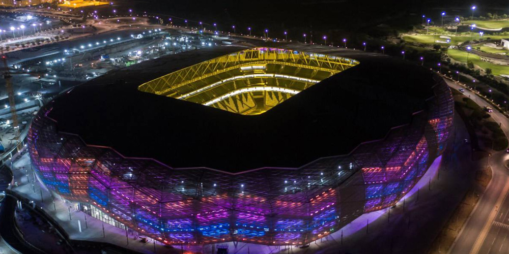 World Cup Qatar's 2022 World Cup 'Diamond In The Desert' Stadium Completed