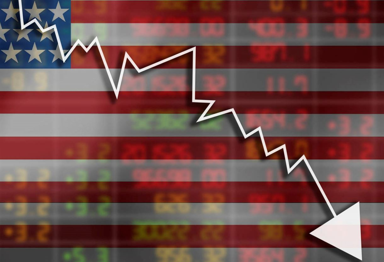 U.S. Economy Backslides Into Full Recession