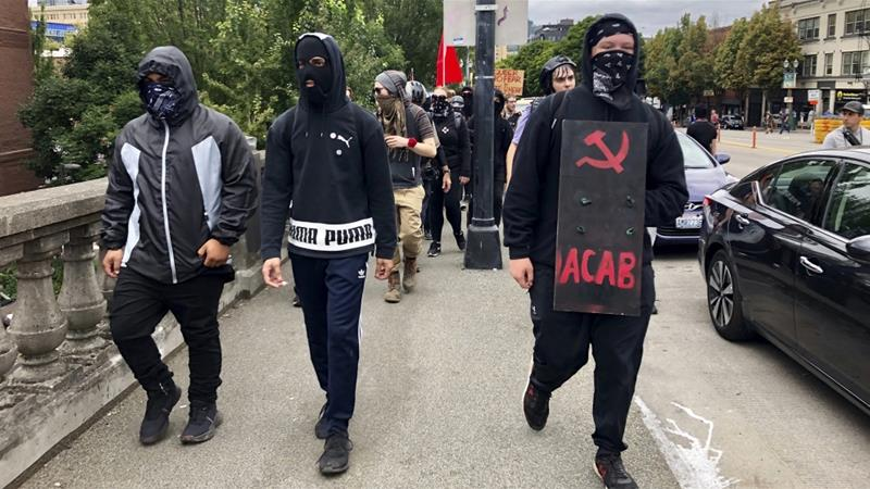 White Supremacists Pose As Antifa Online, Call For Violence