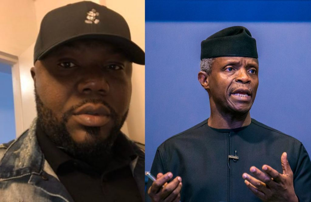 ₦4b Loot - I'm Not Afraid, Resign First – Ude Dares Osinbajo