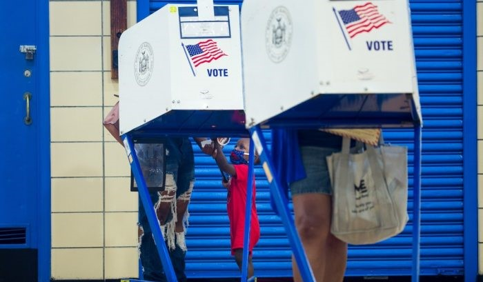 100-day countdown for U.S. November 3 election begins