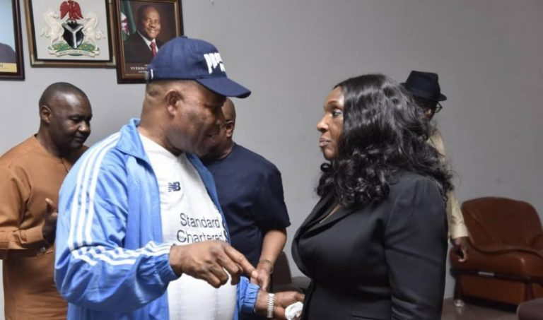 Ask Her Four Husbands About Her Character' – Akpabio Reacts To Nunieh