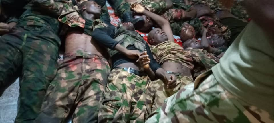Boko Haram Ambush Federal Troops, Massacre Soldiers (Graphic)