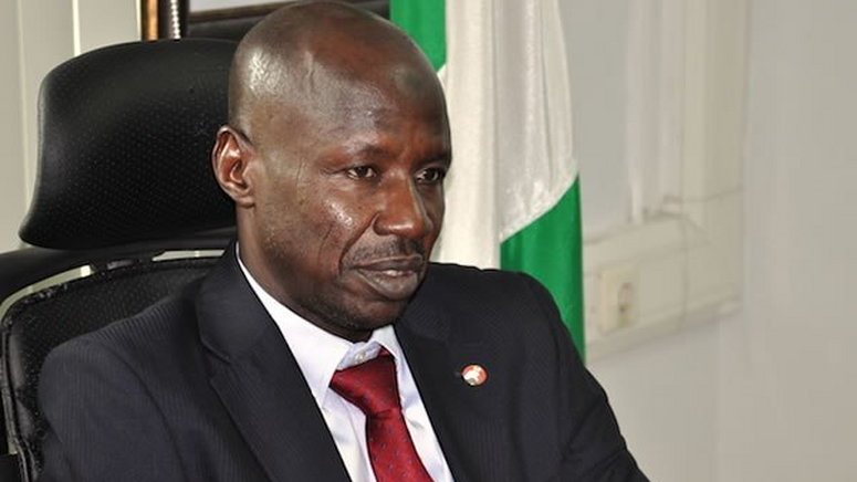 Breaking - DSS Arrests EFCC Chairman, Ibrahim Magu