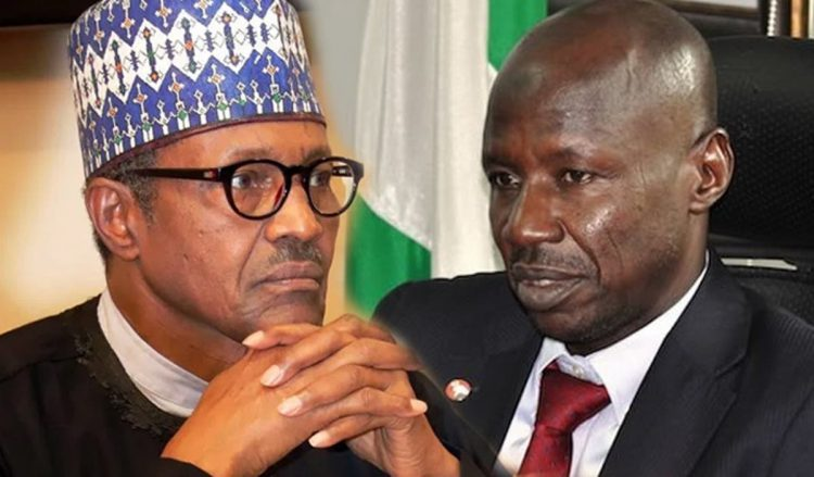 Buhari speaks on Magu - No one above scrutiny