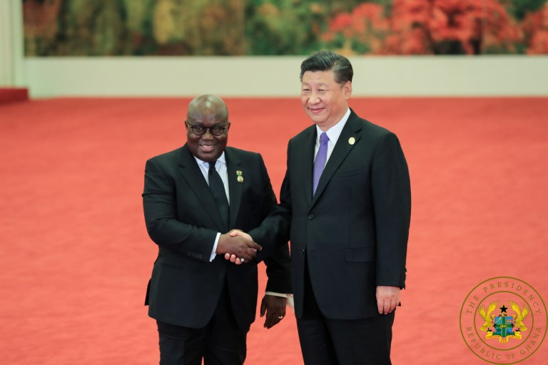Chinese, Ghanaian Leaders Celebrate 60th Anniversary Of Diplomacy