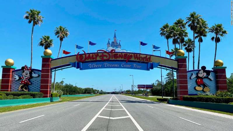 Disney World Reopens As Coronavirus Cases Spike In Florida