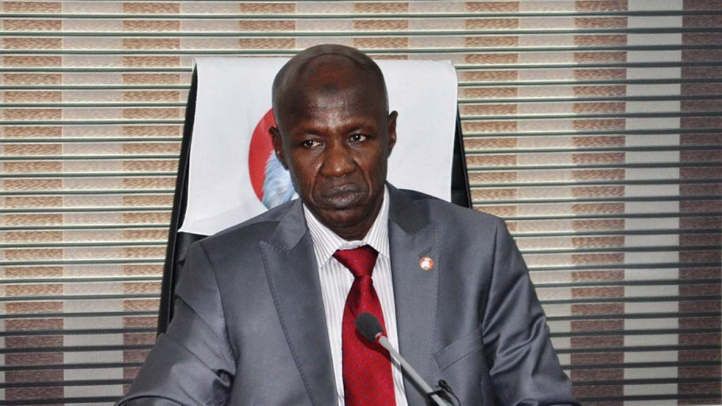 EFCC Chairman, Ibrahim Magu Suspended