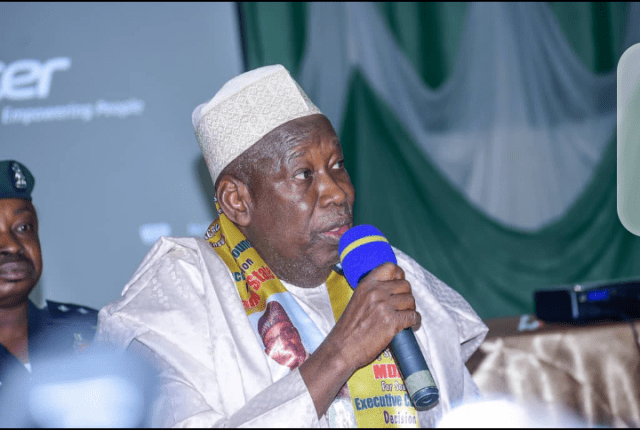 Gov. Ganduje Blows Hot, Vows To End Obaseki's Ambition