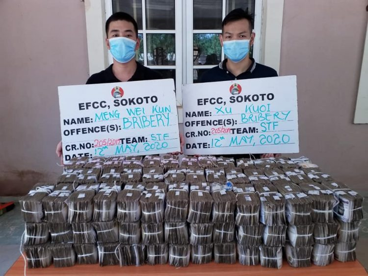 How Two Chinese Attempted To Bribe Us With ₦50m – EFCC