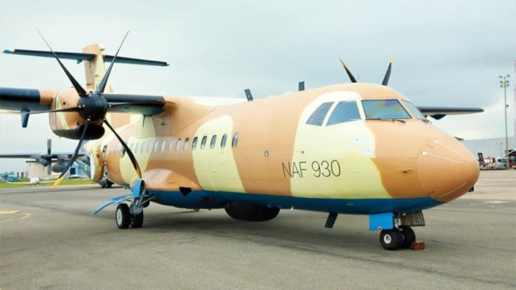 Nigerian Air Force Receives Spy ATR-42 Aircraft
