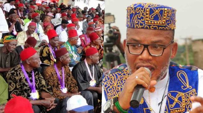 Nwodo - Erring Igbo Elders Should Be Stoned – Ohanaeze Backs Kanu