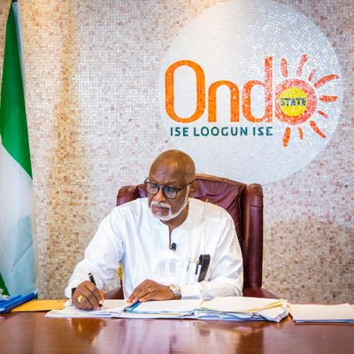 disqualification Ondo - Akeredolu Speaks On APC 'Disqualification'