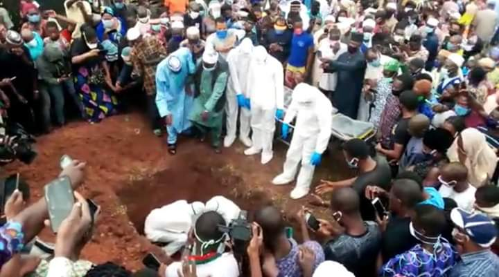 Ondo Health Commissioner Buried Amid Disregard For Social Distancing