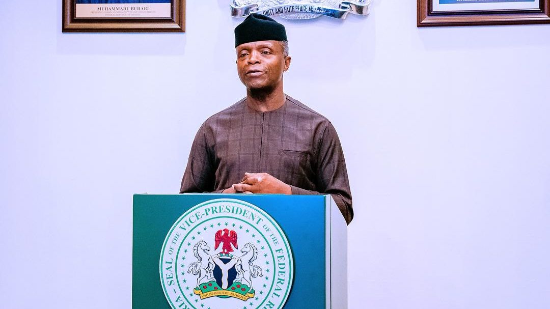 Osinbajo Kicks Against Prohibition Of Cryptocurrency
