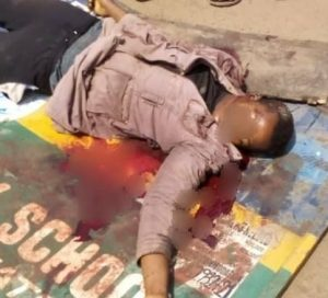 Police Inspector Kills Motorcyclist over ₦50 Face Mask In Imo